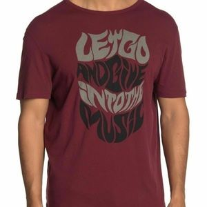 John Varvatos Let Go and Give Into the Music Tee